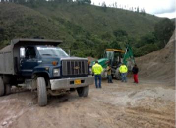 2 mineros ilegales